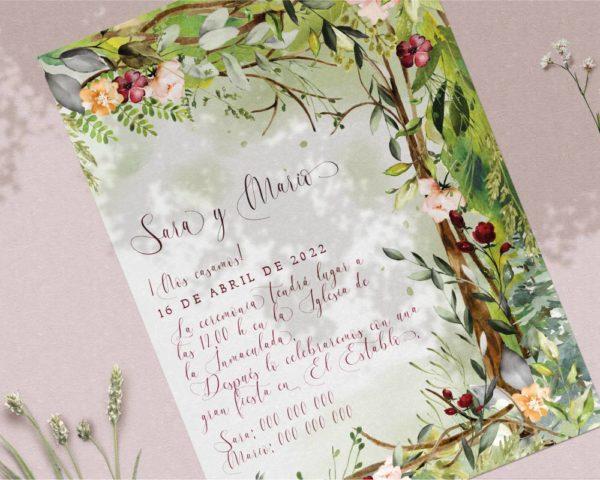 diseños de invitaciones para boda